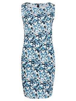 Libby Blue Floral Shift Dress