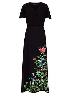 Blyth Garden Floral Maxi Dress