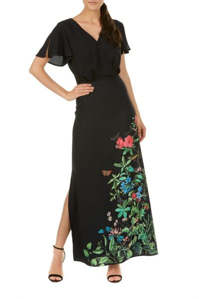 Sugarhill Boutique Blyth Garden Floral Maxi Dress