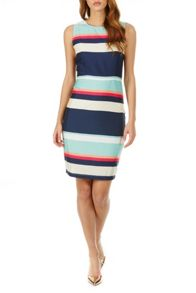 Sugarhill Boutique Eliza Summer Stripe Shift Dress