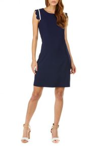 Sugarhill Boutique Kristy Scallop Detail Tunic Dress