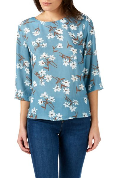 Sugarhill Boutique Wisteria Floral Top