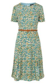 Poppy Lux Duska Floral Fit And Flare Dress