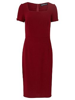 Kensal Square Neck Shift Dress