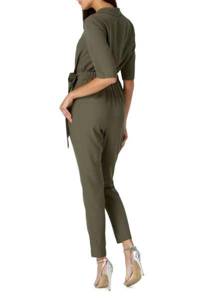 Sugarhill Boutique Emma Khaki Jumpsuit