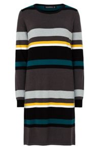 Sugarhill Boutique Ava Stripe Knitted Dress