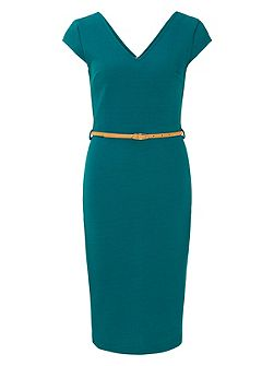 Kirsty Fitted Shift Dress