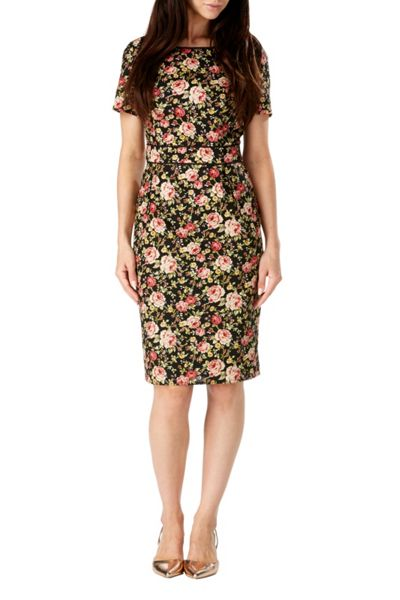 Sugarhill Boutique Ivana Vintage Floral Shift Dress