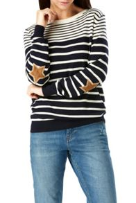 Sugarhill Boutique Deana Star Stripe Sweater