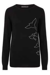 Sugarhill Boutique Nita Bird Flock Jumper