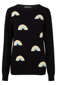Sugarhill Boutique Rainbow Repeat Jumper
