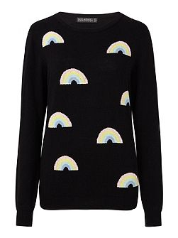 Rainbow Repeat Jumper