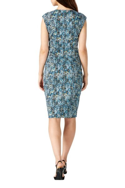 Sugarhill Boutique Celia Textured Camo Print Shift Dress