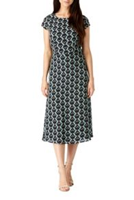 Sugarhill Boutique Hope Floral Vine Print Midi Dress