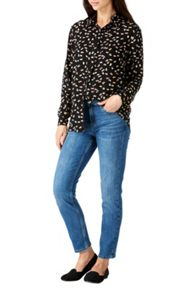 Sugarhill Boutique Blair Heart Print Shirt