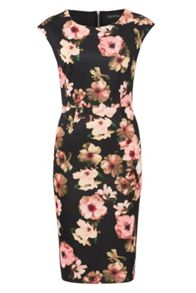 Sugarhill Boutique Lori Digital Floral Shift Dress