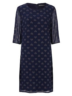 Alison Heart Tunic Dress