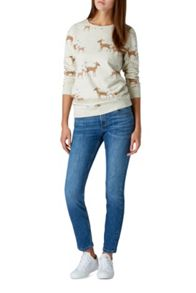 Sugarhill Boutique Bambi Print Sweatshirt
