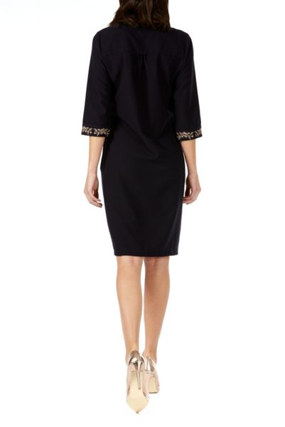 Sugarhill Boutique Heidi Pussy Bow Tunic Dress