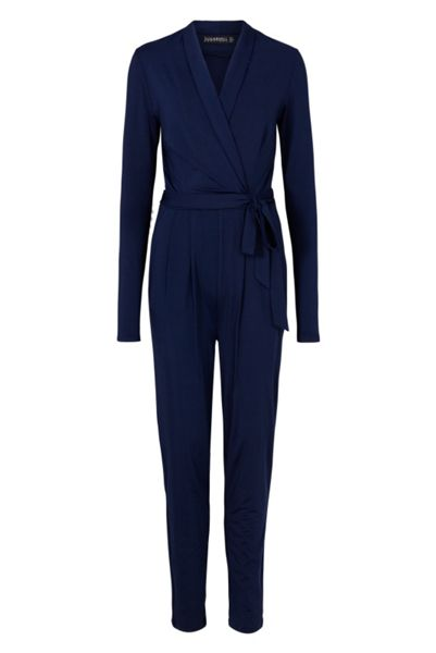 Sugarhill Boutique Josie Wrap Jumpsuit