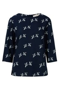 Sugarhill Boutique ADDI BIRD PRINT TOP