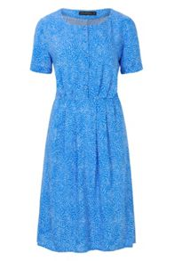 Sugarhill Boutique Litzy Swirling Dots Button Up Dress