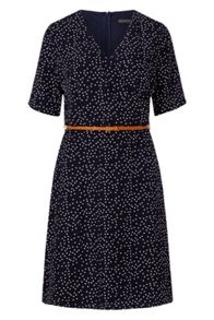 Sugarhill Boutique Ronah Wrap Polka Knee Length Dress