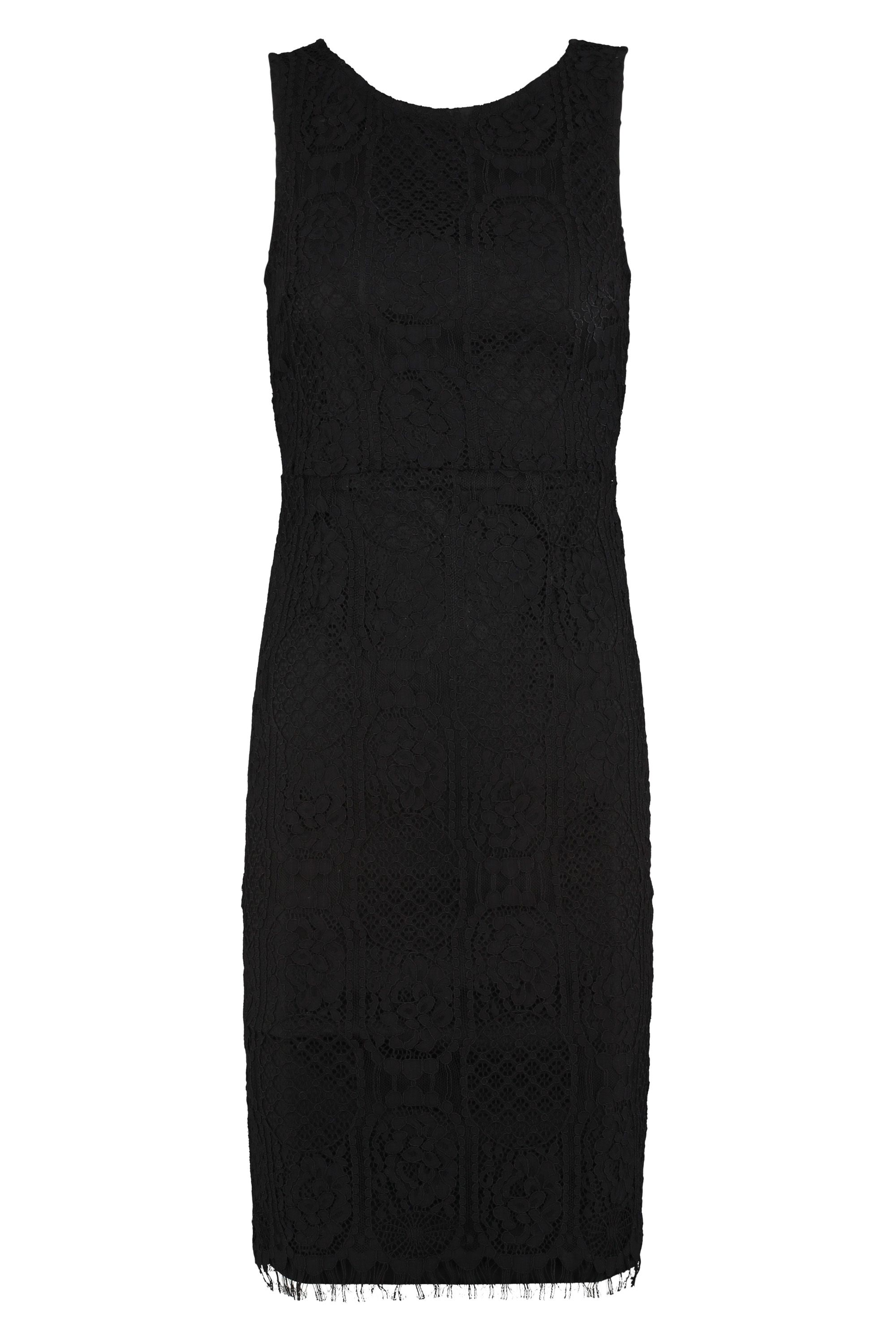 Sugarhill Boutique Lucia Lace Dress, Black