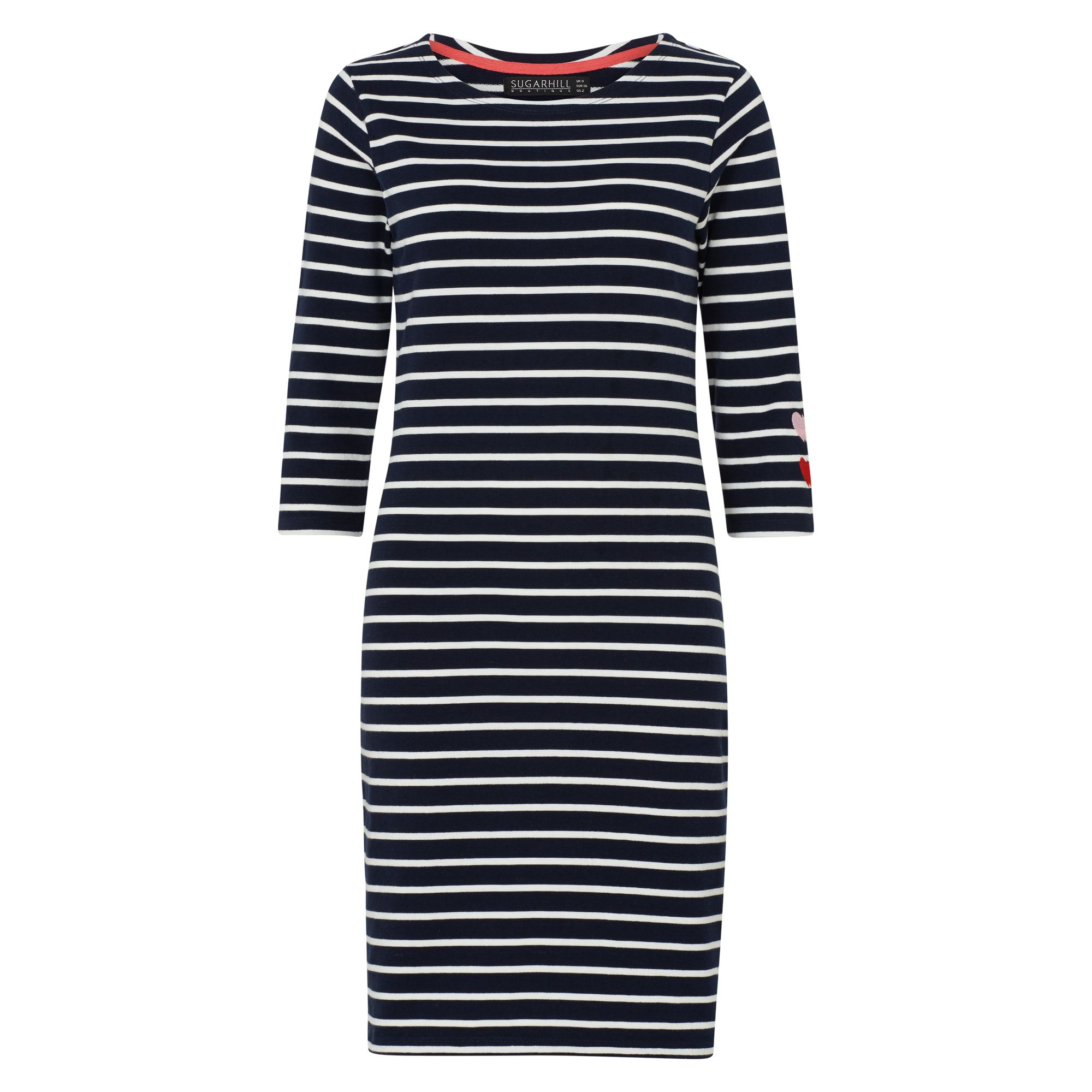 Sugarhill Boutique Brighton Double Love Dress, Blue