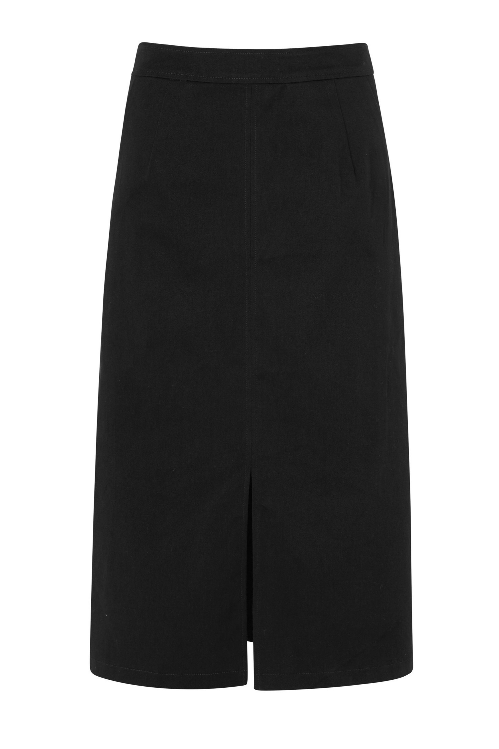 Sugarhill Boutique Bianca Midi Skirt, Black
