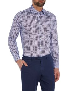 Simon Carter Ls Sf Blue/Red Lemons Moore Shirt