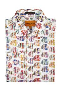 Simon Carter Large Tropical Fish Shirt
