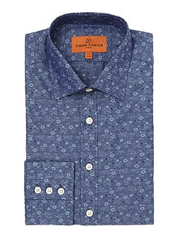 Jacquard Flower Shirt