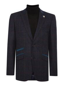 Simon Carter Window Pane Check Jacket