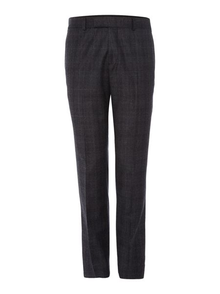 Simon Carter Prince of Wales Flannel Trousers