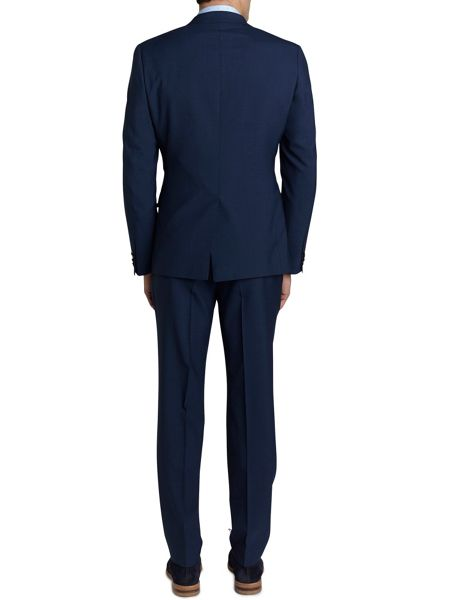 Simon Carter Single Breasted Ff Puppytooth Suit