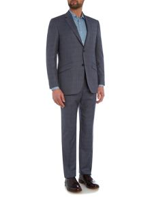 Simon Carter Melange Twill Check Jacket