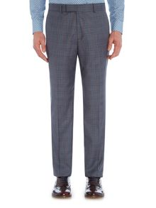 Simon Carter Melange Twill Check Trouser
