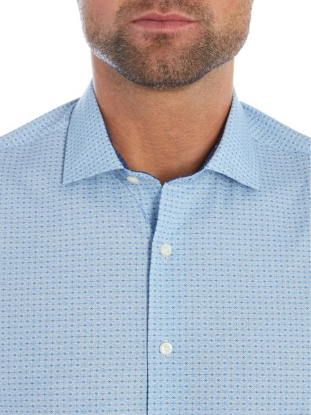 Simon Carter Diamond Print Shirt
