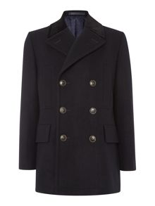 Simon Carter Wool Peacoat
