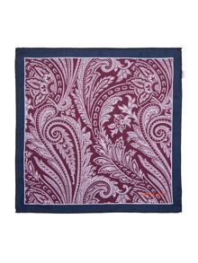 Simon Carter Silk Large Paisley Hankie