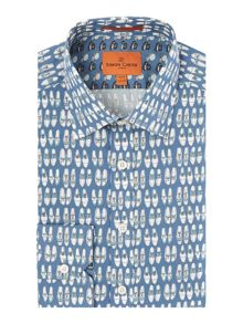 Simon Carter Shoe Print shirt