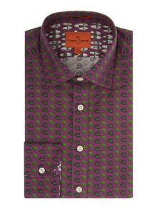 Simon Carter Hat Print shirt