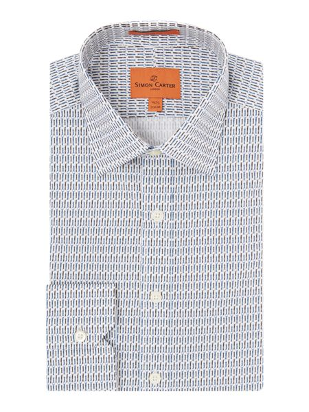 Simon Carter Watch Print shirt