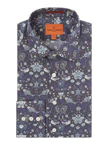 Simon Carter Liberty Fish print shirt