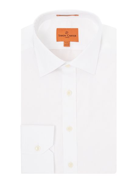 Simon Carter Leaf Jacquard shirt