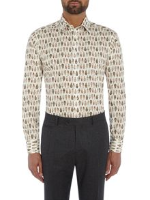 Simon Carter Feather Print shirt