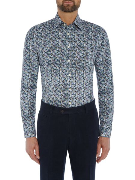 Simon Carter Beetle Print shirt