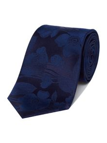 Simon Carter Silk Poppy Tie