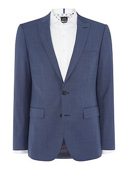 SB2 FF Sharkskin Slim Fit Suit